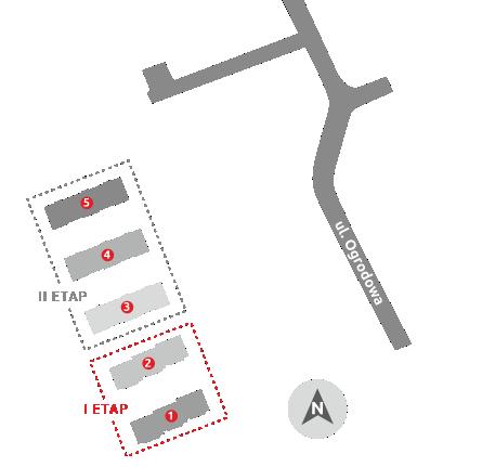 Budynki mieszkalne – Ełk | ul. Ogrodowa – I etap