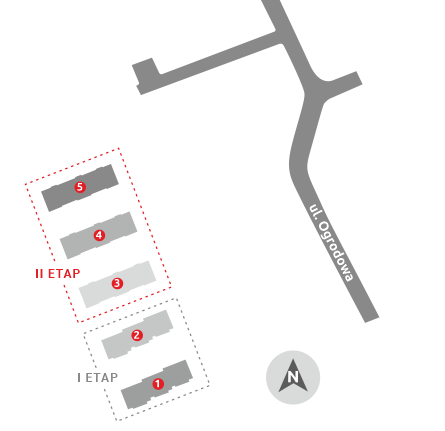 Budynki mieszkalne – Ełk   ul. Ogrodowa – II etap